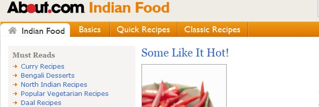 About - Indian - Food