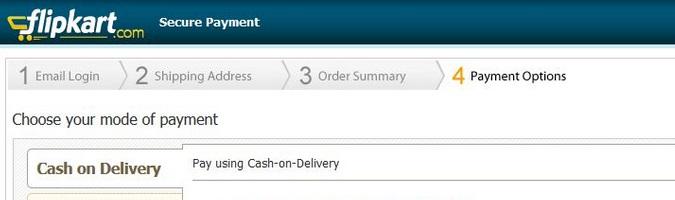 FlipkartCash - On - Delivery