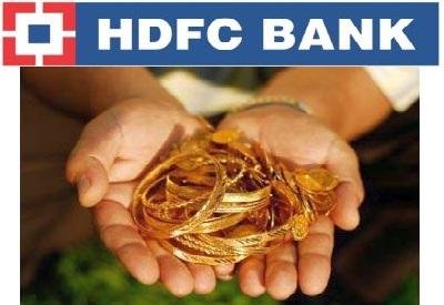 HDFC Gold Loan