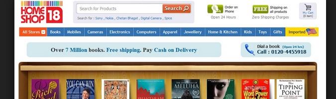 Homeshop18 - Cash - On - Delivery