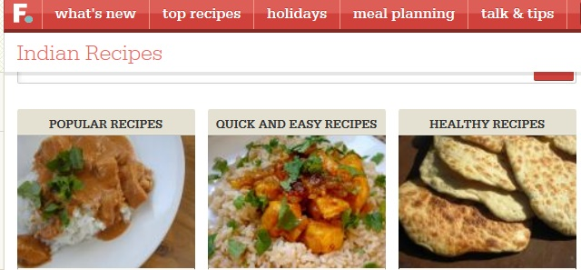 Top 10 indian recipe websites 2014 top list hub indian food recipes forumfinder Images