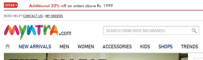 Myntra - Com - Cash - On - Delivery