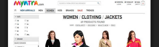 Fashion clothing websites. Cheap online clothing stores