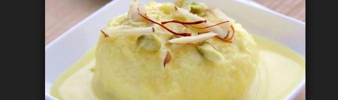 Rasmali Dessert In India