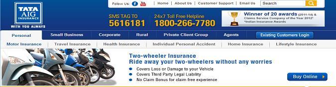 Tata-AIG-Two-Wheeler-Insurance