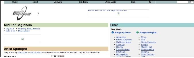 mp3 Music Website