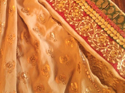 Embroidered Tensil  Sarees