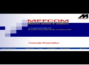 Mefcom Securities Limited
