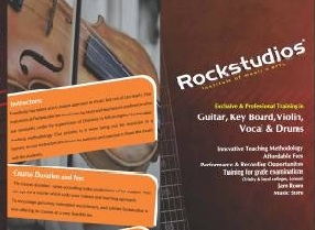 Rockstudios Institute of Music and art