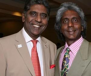 Vijay Amritraj and Anand Amritraj